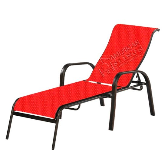 Chaise Lounge 2 Piece Sling-AG
